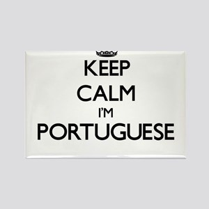 Keep Calm I'm Portuguese Magnets